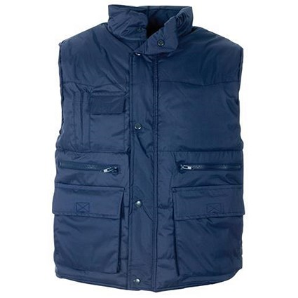 Supertouch Multi Pocket Bodywarmer / Navy / XXXXL