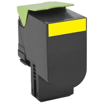 Lexmark 80C20C0 Return Program Yellow Toner Cartridge