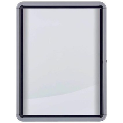 Nobo Outdoor Noticeboard with Lockable Glazed Case, 9xA4, W792xH1040xD85mm