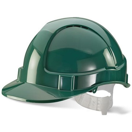 B-Brand Economy Vented Safety Helmet - Green