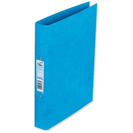 Concord Contrast Ring Binder / A4 / 25mm Capacity / Sky Blue / Pack of 10