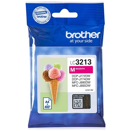 Brother LC3213M Magenta High Yield Inkjet Cartridge