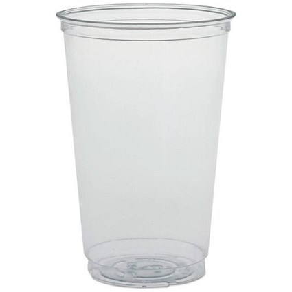 Solo 20oz Plastic Tumbler / Crack-resistant / Clear / Pack of 50