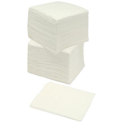 5 Star Napkins / 2-ply / 400x400mm / White / Pack of 100