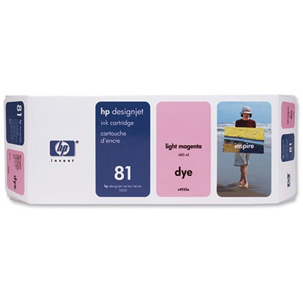 HP 81 Light Magenta Ink Cartridge