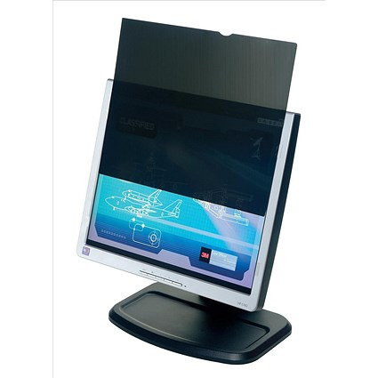 3M Frameless Privacy Filter / Laptop or TFT LCD / 17 inch