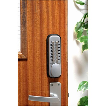 Mechanical Digital Door Lock Zinc Alloy with Fail Safe and 8000 Possible Combinations Ref DXLOCKITHB/C