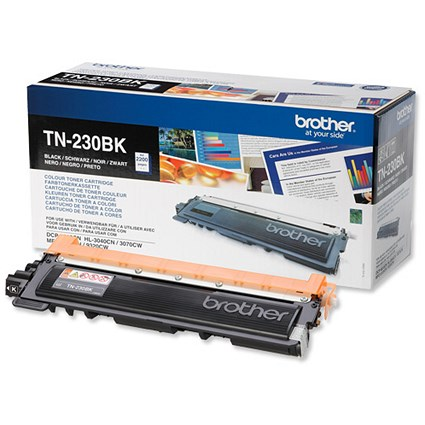 Brother TN230BK Black Laser Toner Cartridge