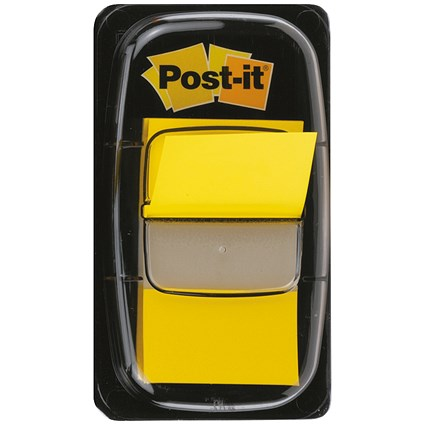 Post-it Index Flags / Yellow / Pack of 12 x 50