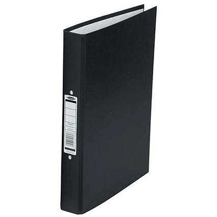 Concord Classic Ring Binder / A4 / 2 O-Ring / 25mm Capacity / Black / Pack of 10
