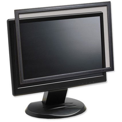 3M Privacy Screen, Protection Filter, Anti-Glare, Framed, Desktop, Widescreen LCD, 22 inch, 16:10
