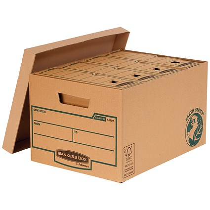 Fellowes Bankers Box Earth Storage Boxes / Large / Pack of 10