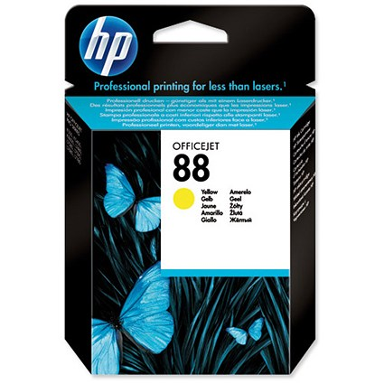 HP 88 Yellow Ink Cartridge
