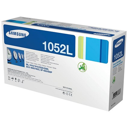 Samsung MLT-D1052L High Yield Black Laser Toner Cartridge