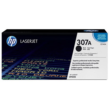 HP 307A Black Laser Toner Cartridge