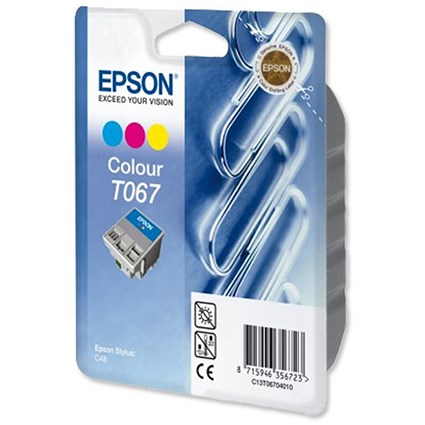 Epson T067 Colour Inkjet Cartridge