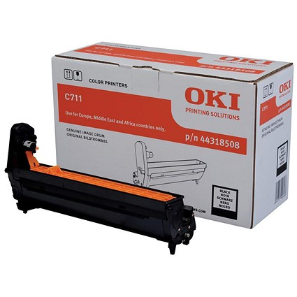 Oki 44318508 Black Laser Drum Unit
