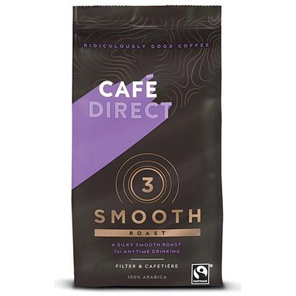 Cafe Direct Smooth Medium Roast Filter Coffee - 227g
