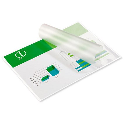 GBC A4 Laminating Pouches / Thick / 350 Micron / Glossy / Pack of 100