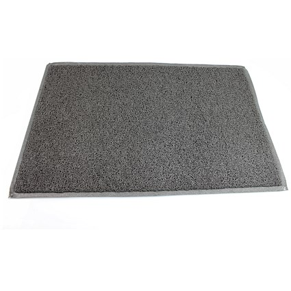 Doortex Heavy Duty Twistermat / 600x900mm / Grey