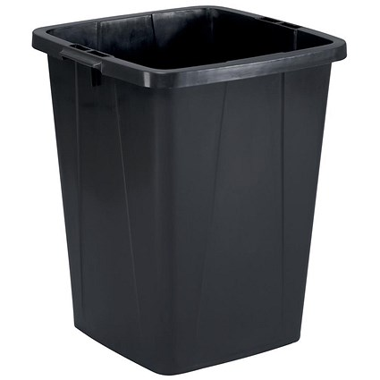 Durable Durabin Slim Bin / 90 Litre / Black