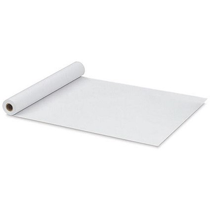 White Banquet Roll, White, 50m