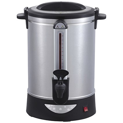 5 Star Urn with Locking Lid, Water Gauge and Boil Dry Overheat Protection - 10 Litre