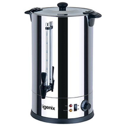 5 Star Urn with Locking Lid, Water Gauge and Boil Dry Overheat Protection - 20 Litre