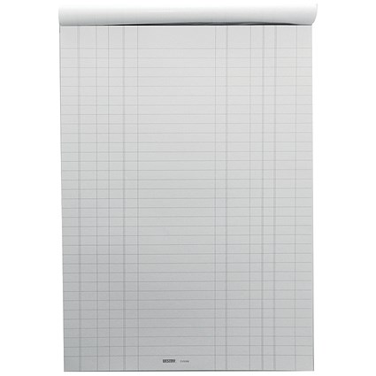 Vestry Survey & Engineering Pad, A4, Double Bill Headed with Feints, 100 Sheets