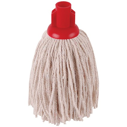 2Work PY Smooth Socket Mop 12oz Red (Pack of 10) 101869R