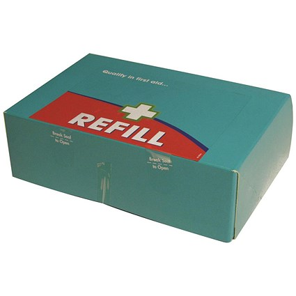 Wallace Cameron BS8599-1 Green Box First Aid Kit Refill - Large
