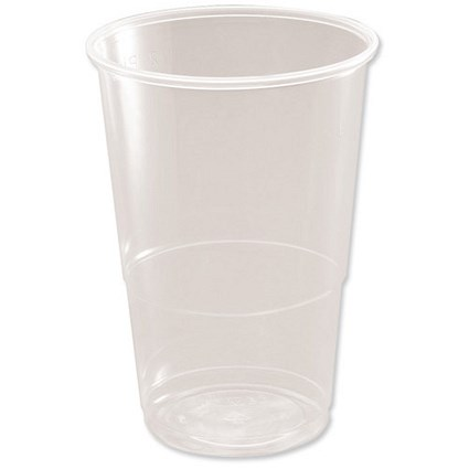 CE Marked Polypropylene Half Pint (284ml) Tumbler - Pack of 50