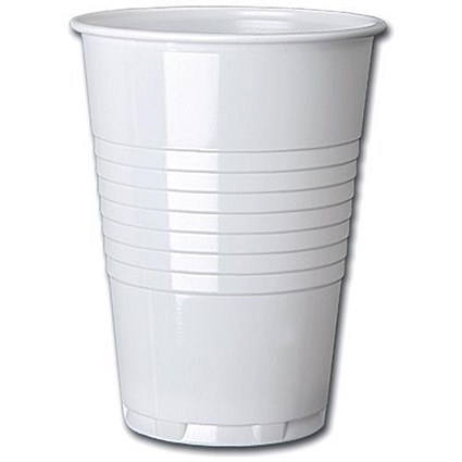 Plastic Vending Machine Cups for Hot Drinks, 200ml, Tall, Pack of 100