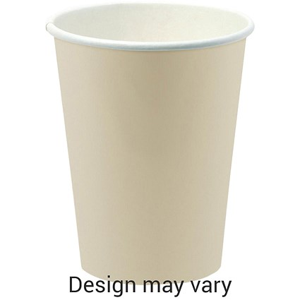 Paper Cup for Hot Drinks / 340ml / Pack of 50