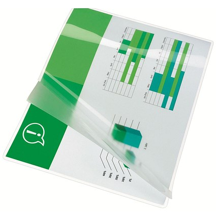 GBC A4 Laminating Pouches / Thin / 150 Micron / Glossy / Pack of 25