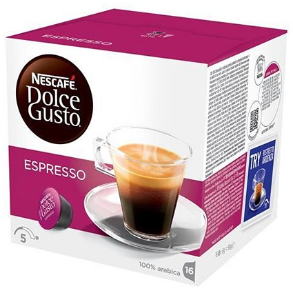 Nescafe Espresso for Nescafe Dolce Gusto Machine - 48 Capsules