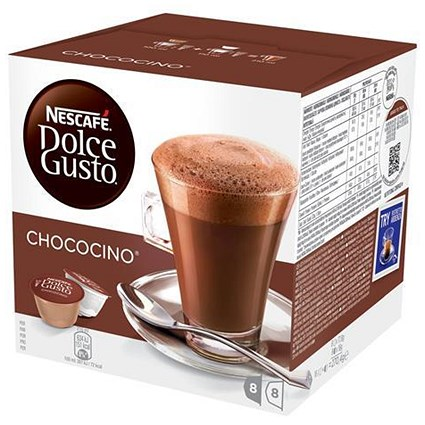 Nescafe Chococino for Nescafe Dolce Gusto Machine - 24 Drinks (48 Capsules)
