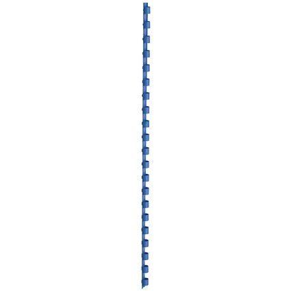 5 Star Binding Combs / 21 Ring / 8mm / Blue / Pack of 100