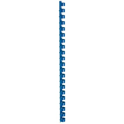 5 Star Binding Combs / 21 Ring / 12mm / Blue / Pack of 100