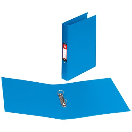 5 Star Ring Binder / A4 / PVC / 25mm Capacity / Blue / Pack of 10
