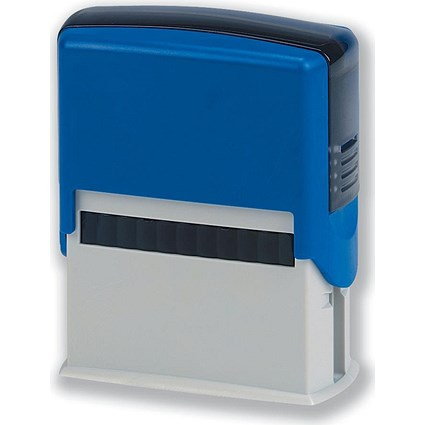 5 Star Custom Self-Inking Imprinter Stamp - 40x15mm (4 Lines of Text)