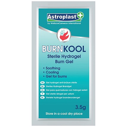Wallace Cameron Sterikool Burn Gel Sachet Non-toxic Australian Tea-tree Oil - Pack of 20