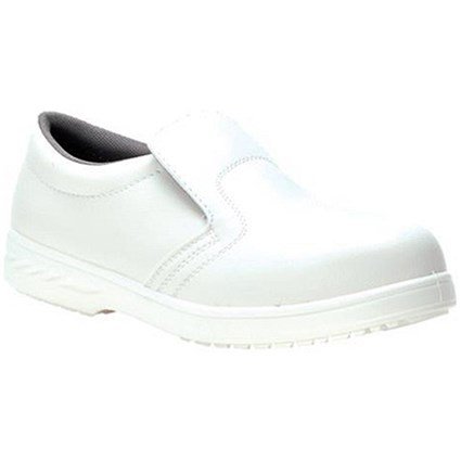 Portwest S2 Hygiene Safety Shoes / Size 12 / White