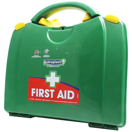 Wallace Cameron Green Box HS2 First-Aid Kit Traditional - 1-20 Users
