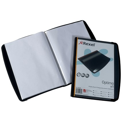 Rexel Professional Display Book / 20 Pockets / A4