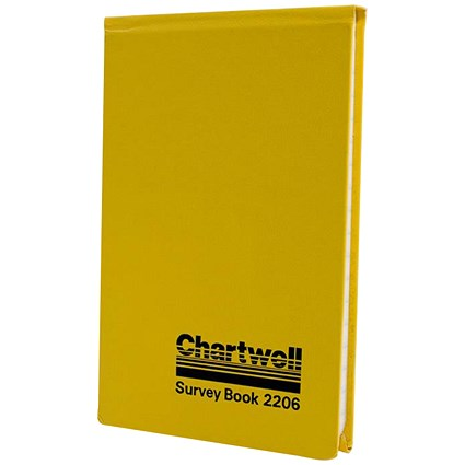 Chartwell Field Survey Book / 106x165mm / Weather Resistant / 80 Leaf