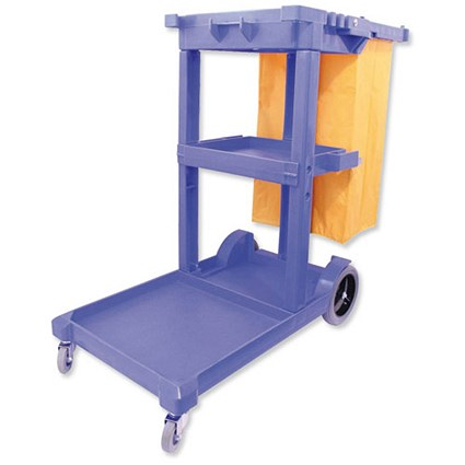 Mobile Multifunctional Janitorial Trolley