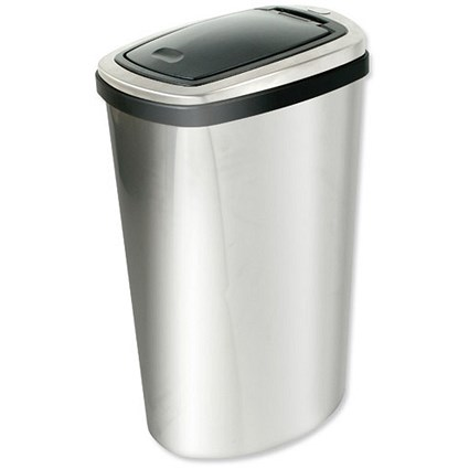 Press Top Bin / Inner Liner / 40 Litre / Stainless Steel
