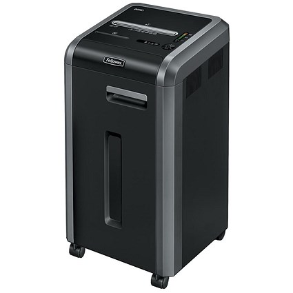 Fellowes 225i Shared Workspace Shredder Ribbon Cut DIN3 P-2 Ref 4623101 [Promo]