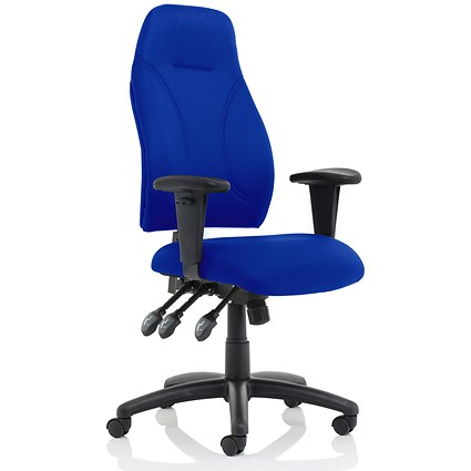 Trexus Posture High Back Chair - Blue